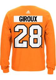 Claude Giroux Philadelphia Flyers Orange Play Long Sleeve Player T Shirt