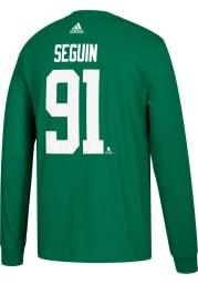 Tyler Seguin Dallas Stars Green Play Long Sleeve Player T Shirt