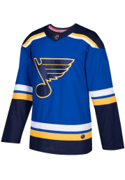 Adidas St Louis Blues Mens Blue Home Authentic Hockey Jersey