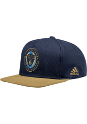 Adidas Philadelphia Union Navy Blue 2018 Authentic Mens Snapback Hat