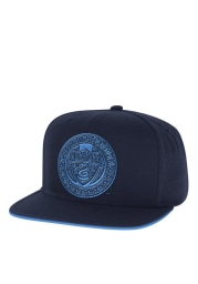 Adidas Philadelphia Union Navy Blue Tonal Mens Snapback Hat