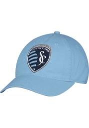 Adidas Sporting Kansas City Mens Light Blue Slope Flex Hat