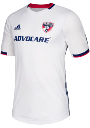 FC Dallas Mens Adidas Authentic Soccer 2019 Secondary Jersey - Blue