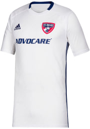 Adidas FC Dallas Youth Blue 2019 Secondary Soccer Jersey