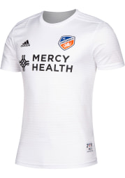 FC Cincinnati Mens Adidas Replica Soccer 2019 Secondary Jersey - White