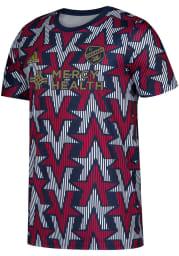 FC Cincinnati Mens Adidas Replica Soccer 2019 Americana Prematch Jersey - Navy Blue