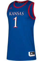 Adidas Kansas Jayhawks Blue Replica Jersey