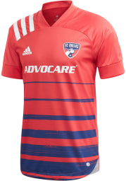 FC Dallas Mens Adidas Authentic Soccer 2020 Primary Jersey - Blue