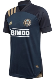 Philadelphia Union Mens Adidas Authentic Soccer 2020 Primary Jersey - Navy Blue