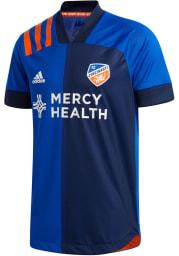 FC Cincinnati Mens Adidas Authentic Soccer 2020 Primary Jersey - Blue
