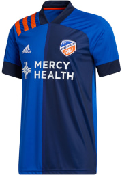 FC Cincinnati Mens Adidas Replica Soccer 2020 Primary Jersey - Blue