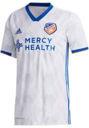 FC Cincinnati Mens Adidas Replica Soccer 2020 Secondary Jersey - White