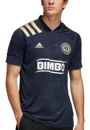 Philadelphia Union Mens Adidas Replica Soccer 2020 Primary Jersey - Navy Blue