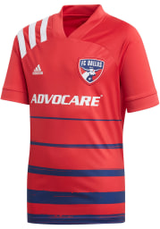 Adidas FC Dallas Youth Blue 2020 Primary Soccer Jersey