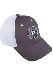 Adidas Dallas Stars Mesh Trucker Adjustable Hat - Charcoal