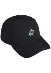 Adidas Dallas Stars Coach Slouch Adjustable Hat - Black