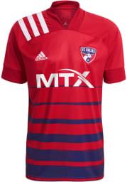 FC Dallas Mens Adidas Replica Soccer 2021 Primary Replica Jersey - Red