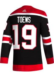 Adidas Jonathan Toews Chicago Blackhawks Mens Black Reverse Retro Authentic Hockey Jersey