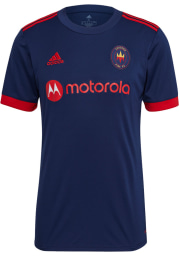 Chicago Fire Mens Adidas Replica Soccer 2021 Primary Jersey - Red