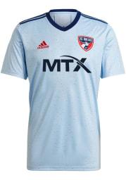 FC Dallas Mens Adidas Replica Soccer 2021 Secondary Jersey - White