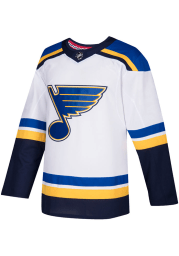 Adidas St Louis Blues Mens White Authentic Jersey Hockey Jersey