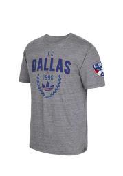 Adidas FC Dallas Grey Easy Win Short Sleeve Fashion T Shirt