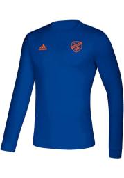 Adidas FC Cincinnati Blue Creator Long Sleeve T-Shirt