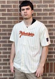 Philadelphia Flyers Mens Adidas Replica Baseball Jersey Jersey - White