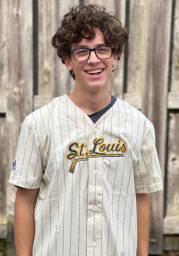 St Louis Blues Mens Adidas Replica Baseball Jersey Jersey - White