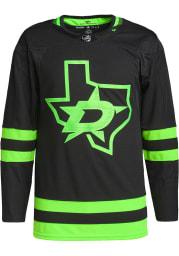 Adidas Dallas Stars Mens Black Alt Authentic Hockey Jersey