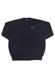 Penn State Nittany Lions Mens Navy Blue Logo Long Sleeve Sweater