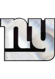 New York Giants Chrome Car Emblem - Silver