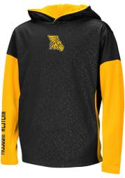 Colosseum Missouri Western Griffons Youth Black Snurfer Long Sleeve Hoodie