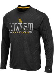 Colosseum Missouri Western Griffons Black Luge Perf Long Sleeve T-Shirt