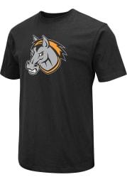 Colosseum Kansas City Mavericks Black Logo Short Sleeve T Shirt