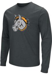 Colosseum Kansas City Mavericks Black Logo Long Sleeve Fashion T Shirt