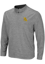 Colosseum Missouri Western Griffons Mens Grey Alligators are Ornery Long Sleeve 1/4 Zip Pullover