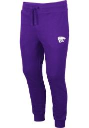 Colosseum K-State Wildcats Mens Purple Comic Book Sweatpants