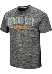 Colosseum Kansas City Mavericks Grey Born And Raised Short Sleeve T Shirt