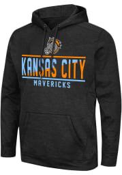 Colosseum Kansas City Mavericks Mens Black Swarley Hood