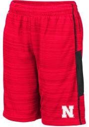 Colosseum Nebraska Cornhuskers Youth Red Wewak Shorts