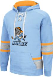 Colosseum Kansas City Mavericks Mens Grey Over-Correction Fashion Hood