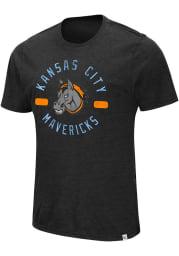 Colosseum Kansas City Mavericks Grey High Fives Short Sleeve Fashion T Shirt