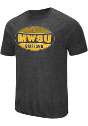 Colosseum Missouri Western Griffons Black Jenkins Short Sleeve T Shirt