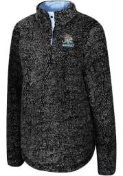 Colosseum Kansas City Mavericks Womens Grey Cosmic Ray 1/4 Zip Pullover