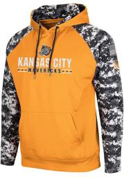 Colosseum Kansas City Mavericks Mens Light Blue Fitty Hood