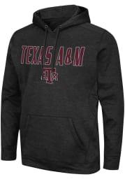 Colosseum Texas A&M Aggies Mens Black Showtime Hood