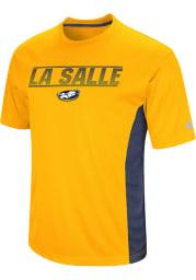 Colosseum La Salle Explorers Yellow Beamer Short Sleeve T Shirt