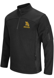 Colosseum Missouri Western Griffons Mens Black Advantage Long Sleeve 1/4 Zip Pullover
