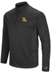 Colosseum Missouri Western Griffons Mens Black Audible Long Sleeve 1/4 Zip Pullover